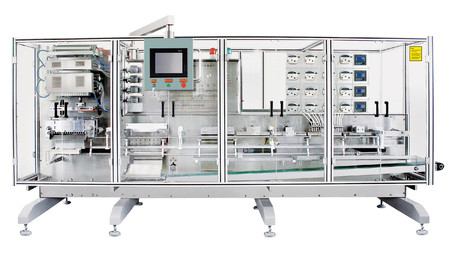 Plastic ampoule bottle packing machine